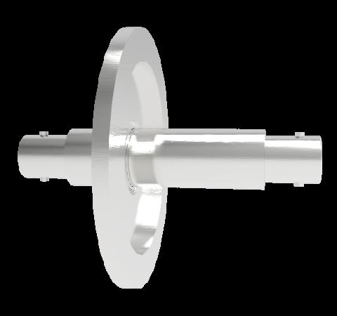 MHV Grounded Shield Recessed 5kV 3.6 Amp KF40 Flange Without Plug
