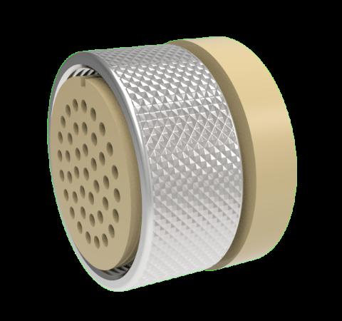Mil-C-26482 Circular, Peek Vacuum Side Plug, 41 Pin, Copper Alloy Crimp Contacts, 1kV, 3 Amp