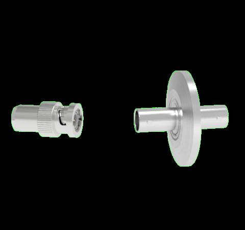 BNC 50 Ohm Grounded Shield 500V 0.8 Amp KF25 Flange With Plug