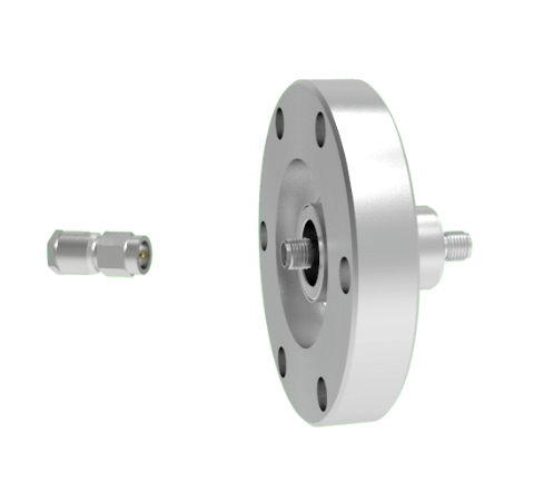 SMA 50 Ohm Double Ended 500V 0.8 Amp CF2.75 Flange With Plug