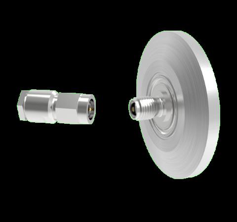 SMA 50 Ohm Grounded Shield 500V 0.8 Amp KF25 Flange With Plug