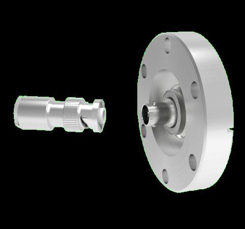 MHV Floating Shield  5kV 3.6 Amp 0.094 304 Stn. Stl. Conductor CF2.75 Flange With Plug