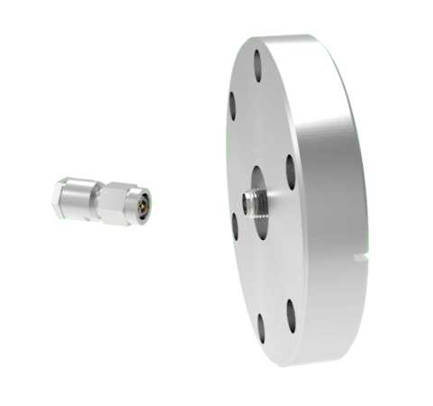 SMA 50 Ohm Grounded Shield 500V 0.8 Amp CF2.75 Flange With Plug