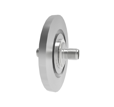 SMA 50 Ohm Grounded Shield 500V 0.8 Amp KF25 Flange Without Plug