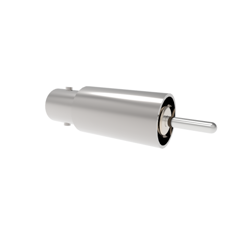 BNC Grounded Shield Recessed 500V 3.6 Amp 0.094 304 Stn. Stl. Conductor Weld Without Plug