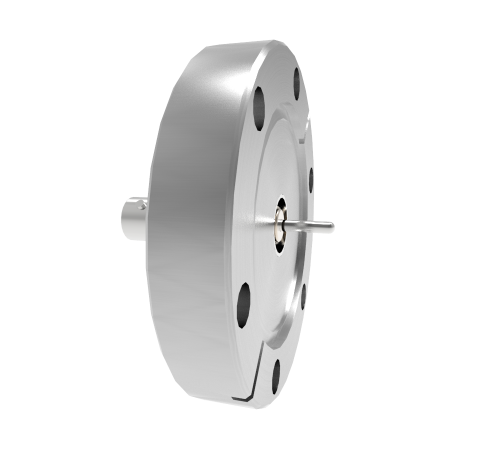BNC Grounded Shield Recessed 500V 3.6 Amp 0.094 304 Stn. Stl. Conductor CF2.75 Flange Without Plug