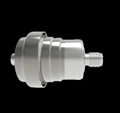 SMA 50 Ohm Floating Shield  500V 0.8 Amp Weld Without Plug