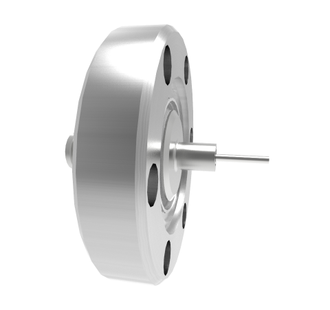 SMA Grounded Shield Recessed 500V 0.8 Amp 0.040 330 Stn Stl Conductor CF1.33 Flange Without Plug