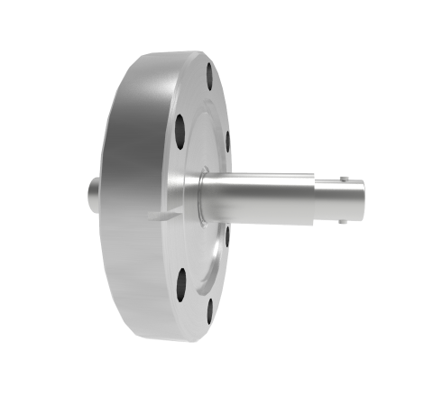 BNC Grounded Shield Recessed 500V 3.6 Amp CF2.75 Flange Without Plug