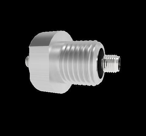 SMA 50 Ohm Grounded Shield 500V 0.8 Amp NPT 3/8 Flange Without Plug
