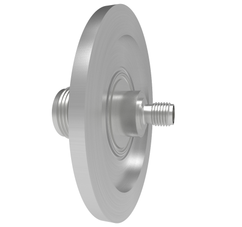Type N to SMA Grounded Shield 1.5kV 1 Amp KF40 Flange Without Type N Air Side Plug