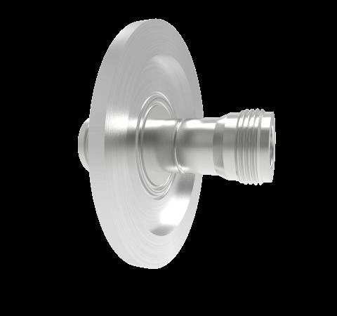 Type N 50 Ohm Double Ended 1.5kV 1 Amp KF40 Flange Without Plug