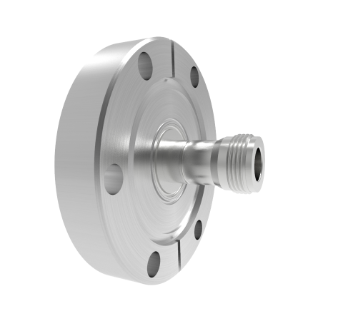 Type N 50 Ohm Double Ended 1.5kV 1 Amp CF2.75 Flange Without Plug