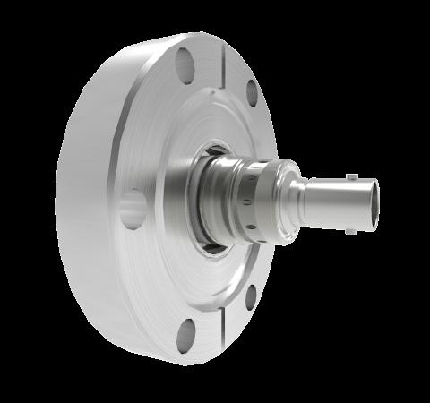 BNC 50 Ohm Floating Shield  500V 0.8 Amp CF2.75 Flange Without Plug