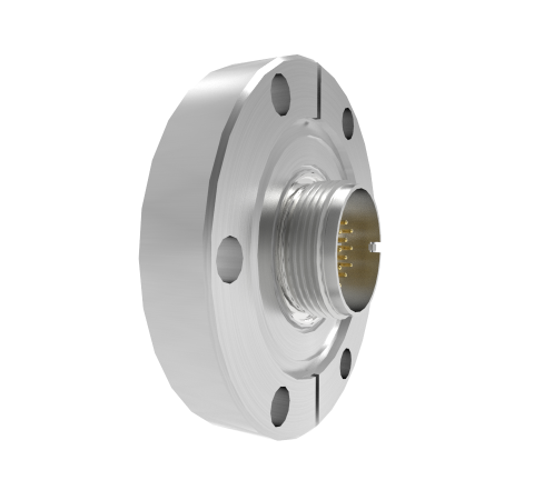 19 Pin Circular Connector, 26482 Series, 1kV, 3 Amp, Gold Plated Conductors, Double Ended, CF2.75