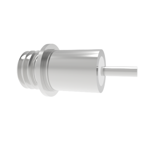 MICRODOT FEEDTHROUGH, 1KV, 2 AMP, 0.042 INCH INCONEL CONDUCTOR, WELD IN, WITHOUT PLUG