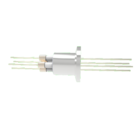 0.050 Conductor Diameter 4 Pin 6kV 8.2 Amp Nickel Conductor in a KF16