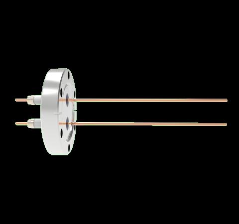 0.094 Conductor Diameter 2 Pin 10kV 30 Amp Copper Conductor in a CF2.75