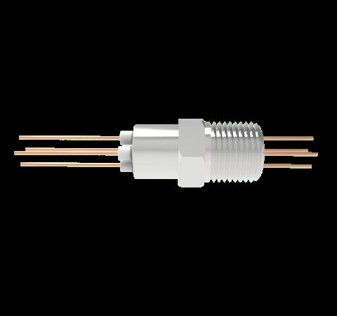 0.050 Conductor Diameter 4 Pin 3kV 27 Amp Copper Conductor in a NPT 1/2